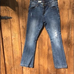 Distressed Kut from Kloth Jeans!